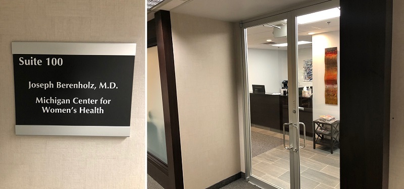 Dr Berenholz's office